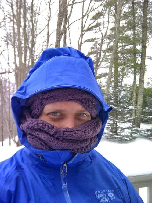 bundled in arctic climes