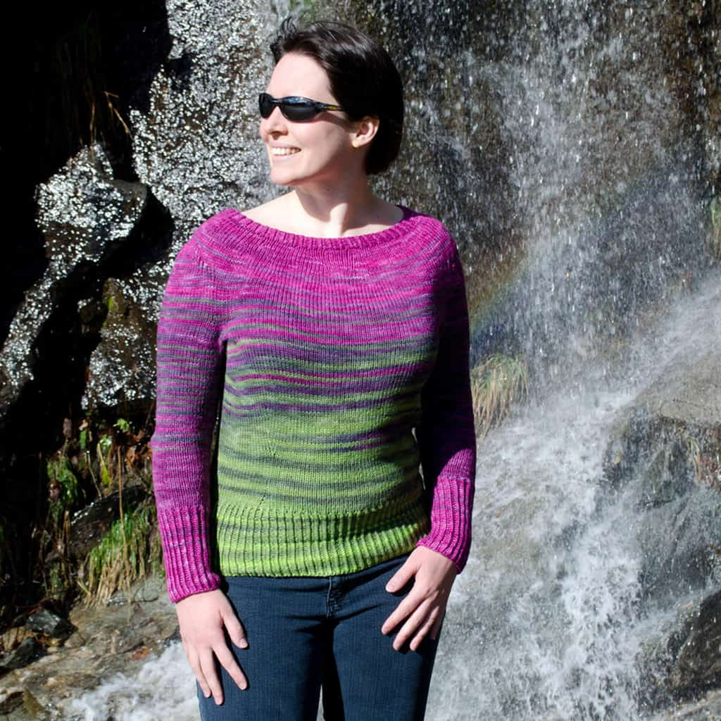 Color Flow Sweater