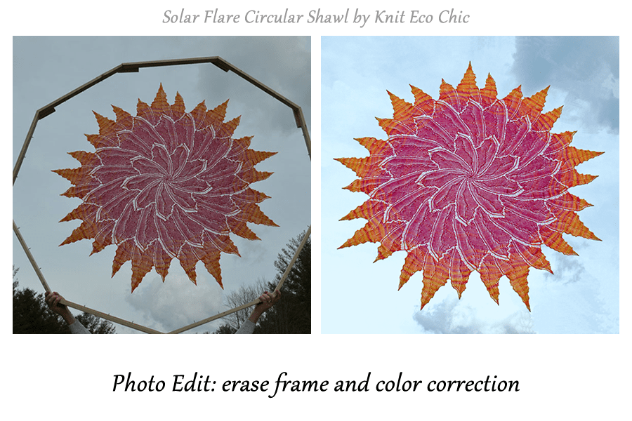 Solar Flare Before and After