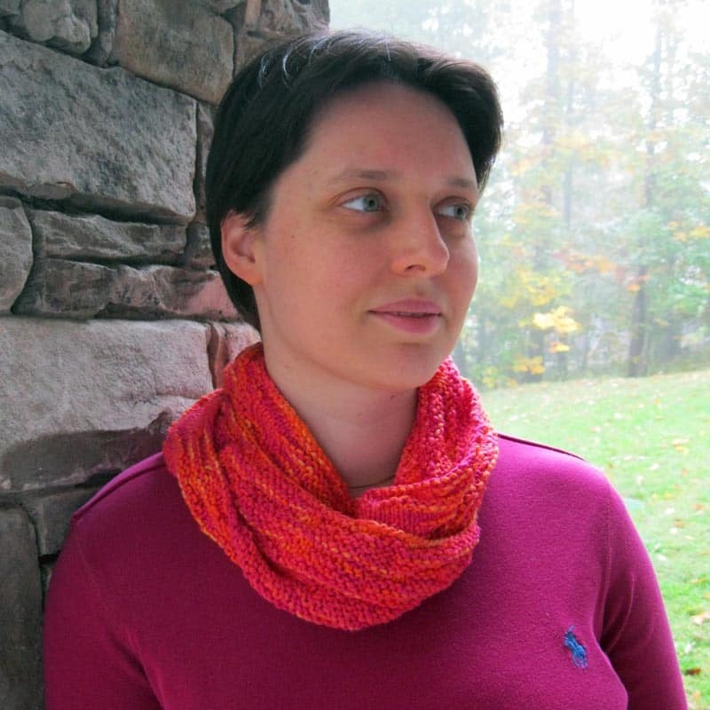 Collegiate Variegation Cowl