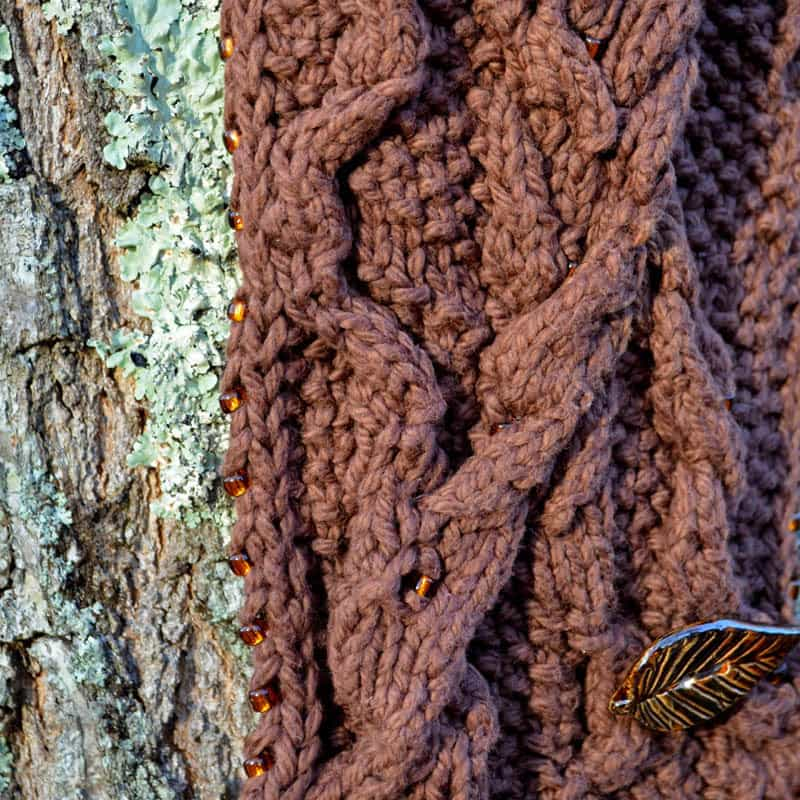 Black Willow Cowl & Scarf