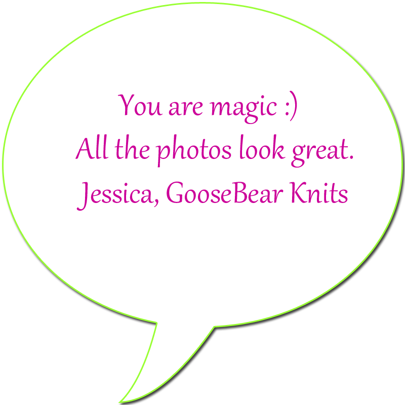 customer feedback GooseBear Knits
