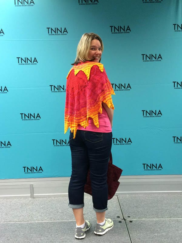 Erin showing off Solar Flare at TNNA 2015