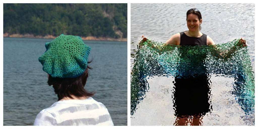 side by side deep waters beret and oceanic