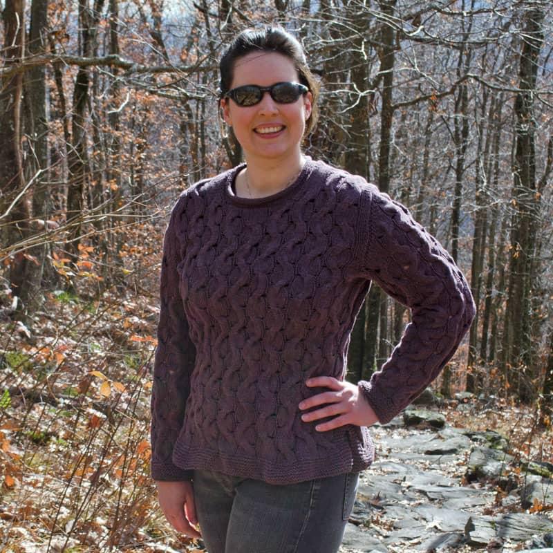 Alternating Paths Sweater