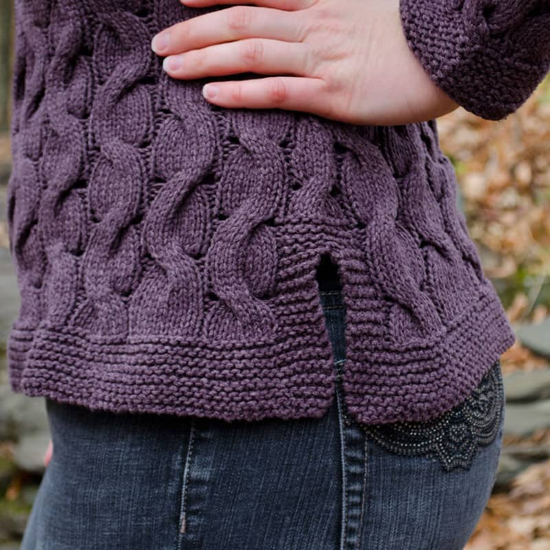 Alternating Paths Sweater close up