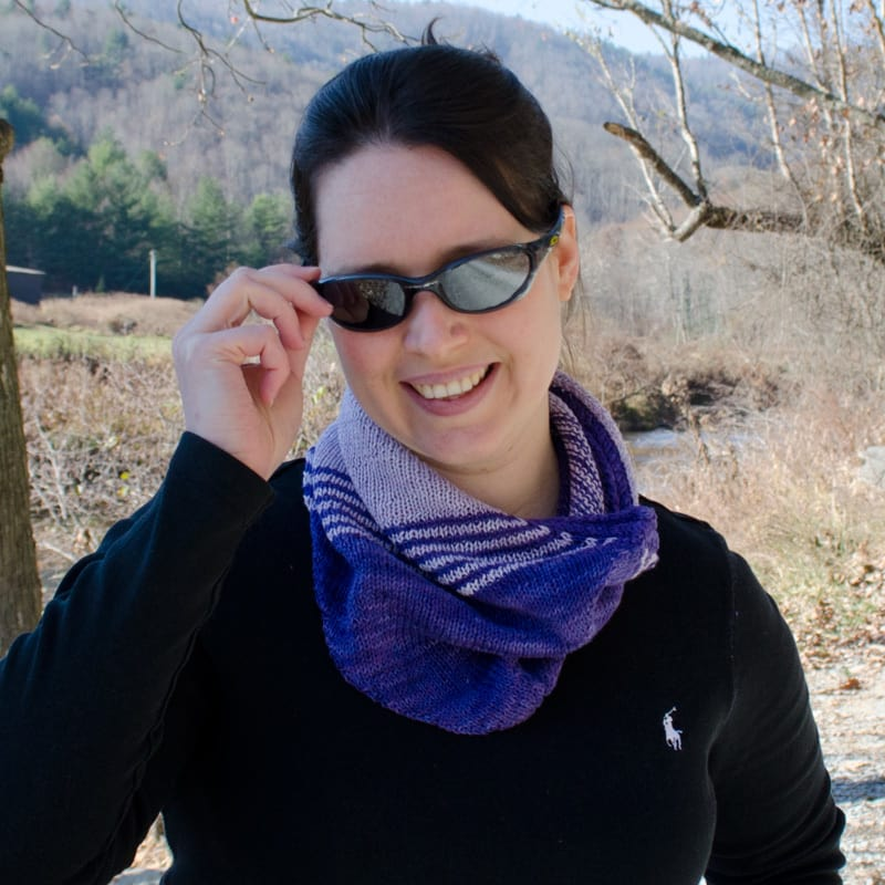 Pitch Cowl purple front