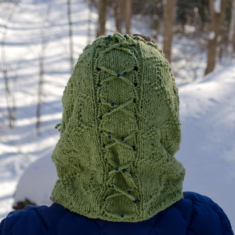 Zipline as a snood