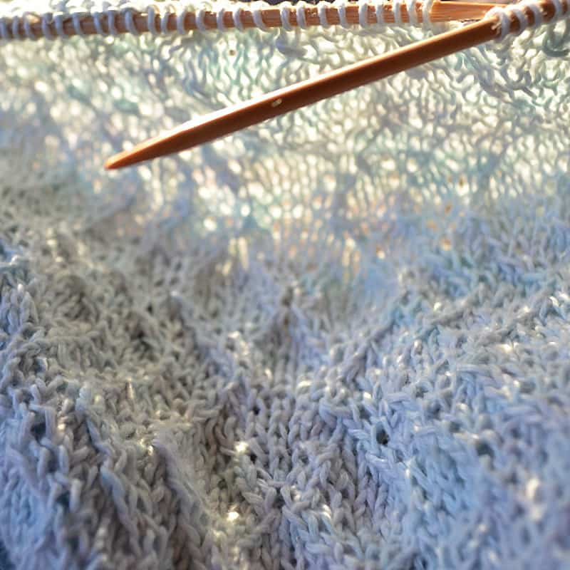linen WIP coastal reflection