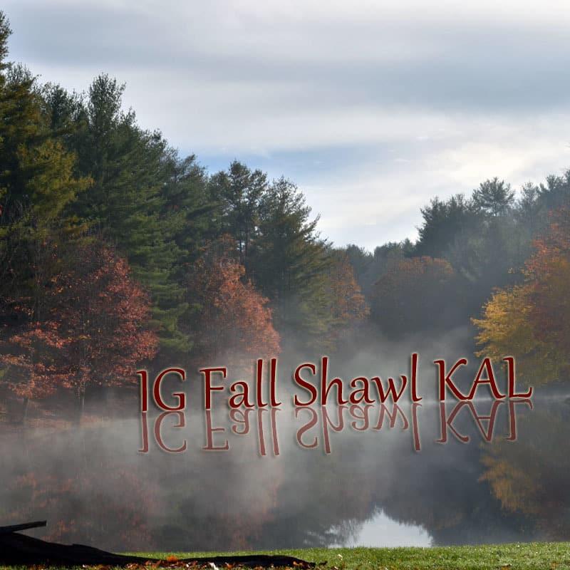 fall shawl kal graphic