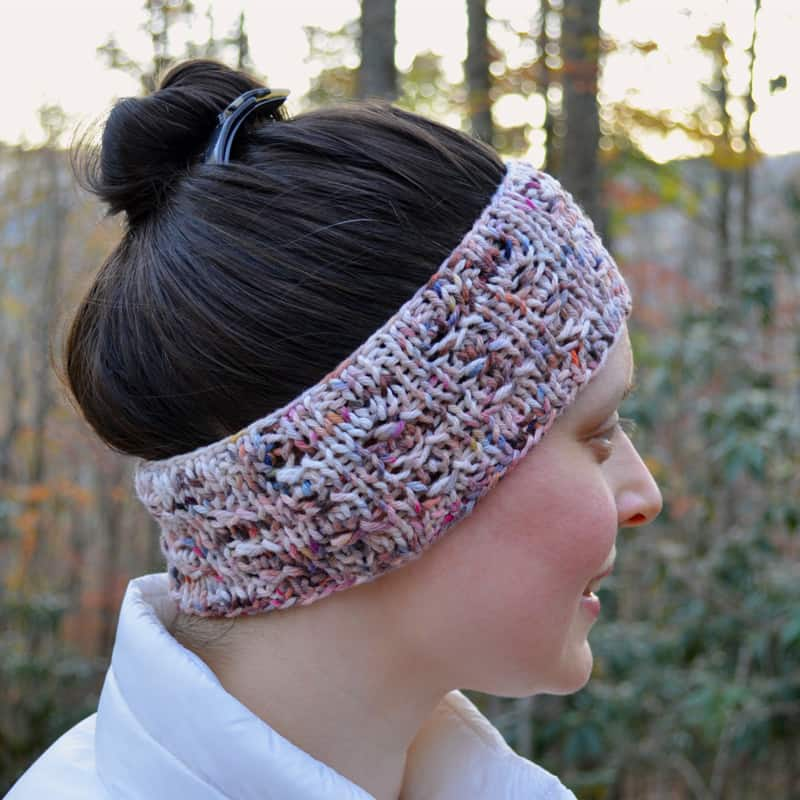 Snow Gazer Headband side view