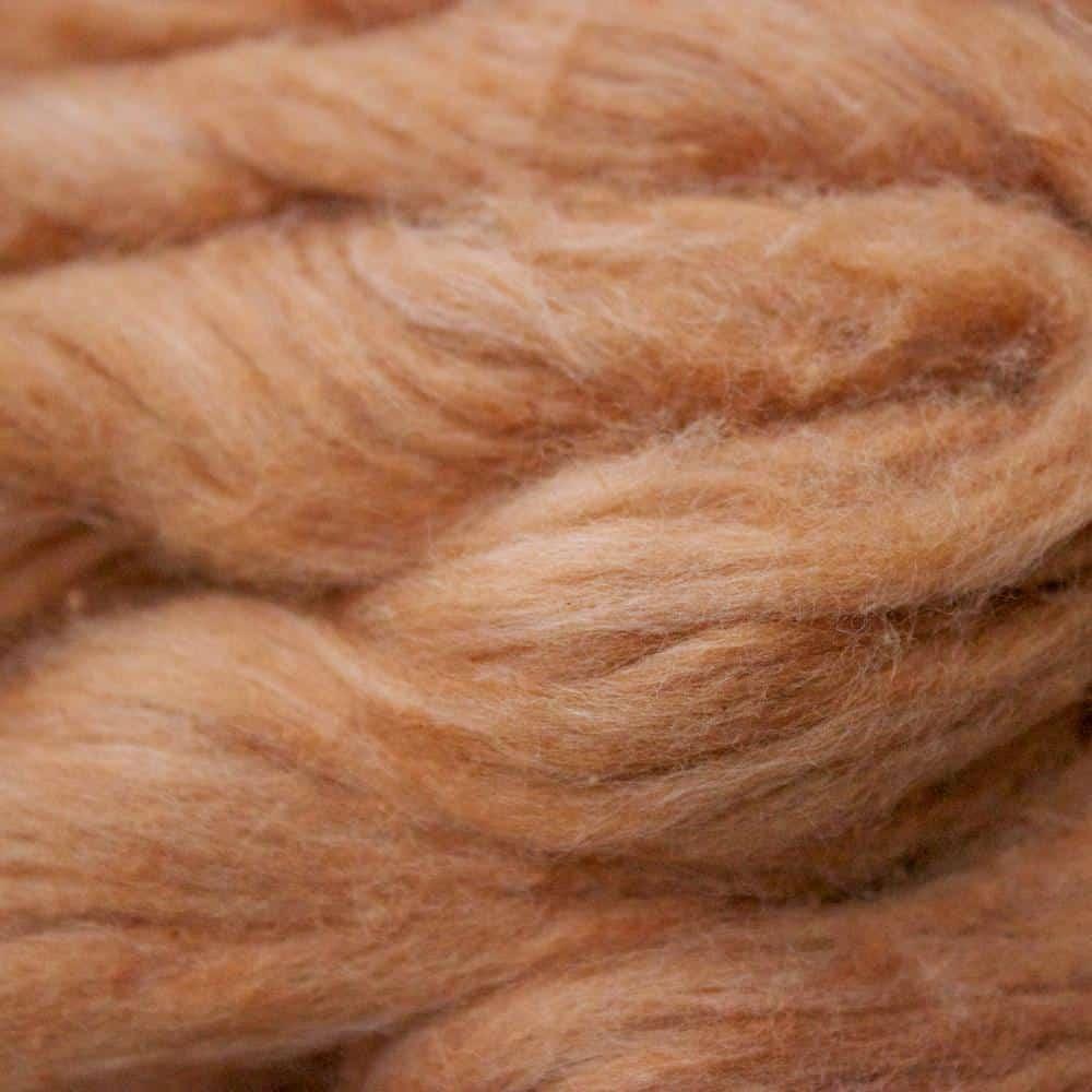 sample of Heidi's spinning fiber
