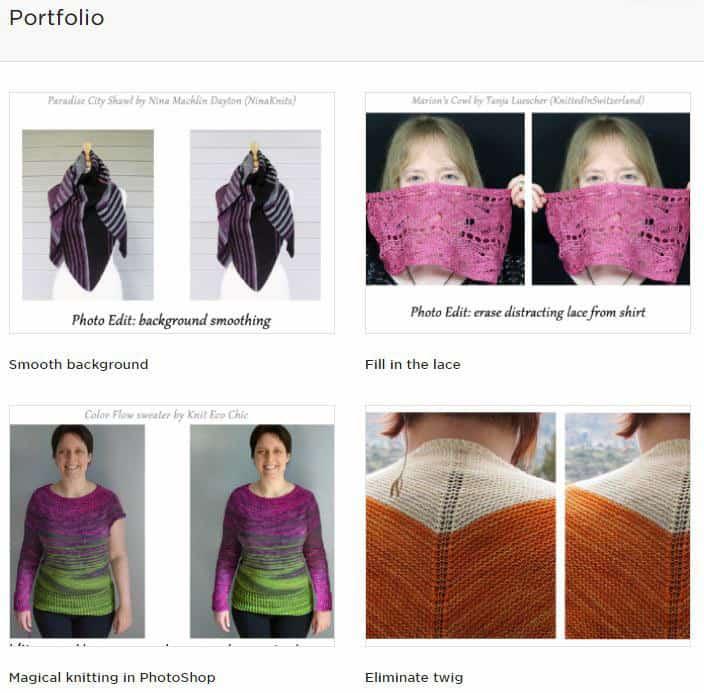 upwork portfolio