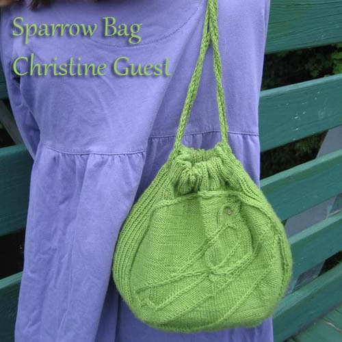Sparrow Bag by Christine Guest