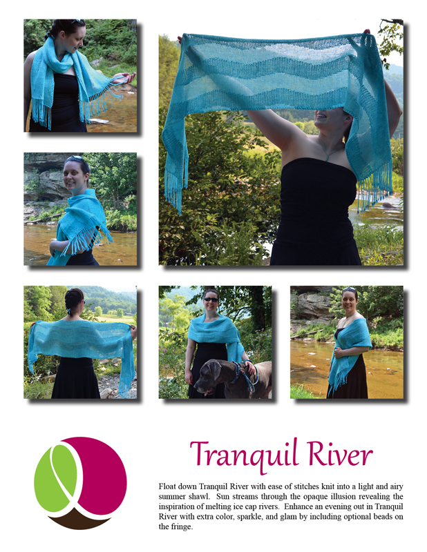 Tranquil River Pattern cover