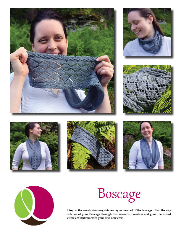 Boscage pattern cover