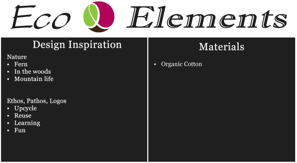 Eco Elements boscage graphic