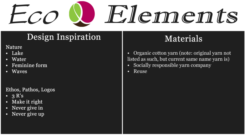 Eco elements lake breeze tank graphic