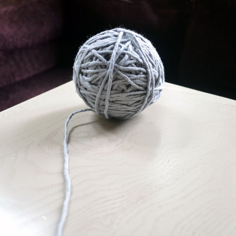the lonely yarn ball