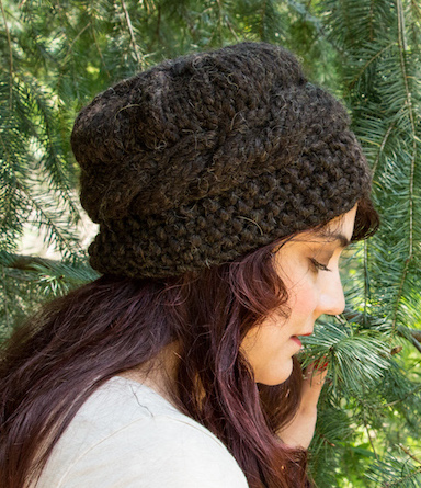 Muskox Hat from Knitting Wild