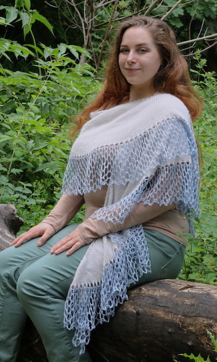 Glacier Shawl from Knitting Wild