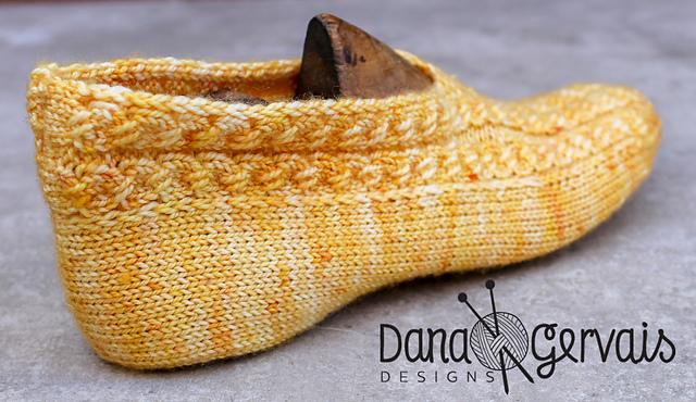 Elegant slippers Dana Gervais