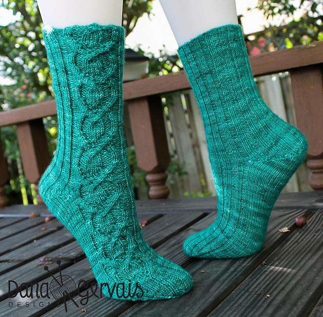 Plot Twist socks Dana Gervaise