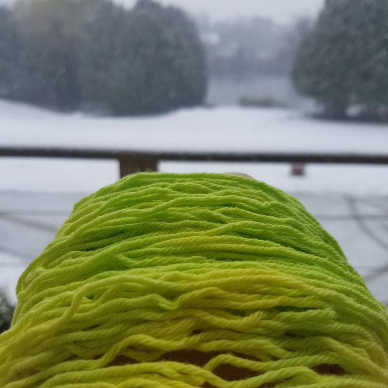 Quiet Nova Studios Nature's First Green organic cotton yarn
