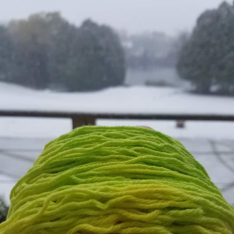 quiet nova yarn pre-knit