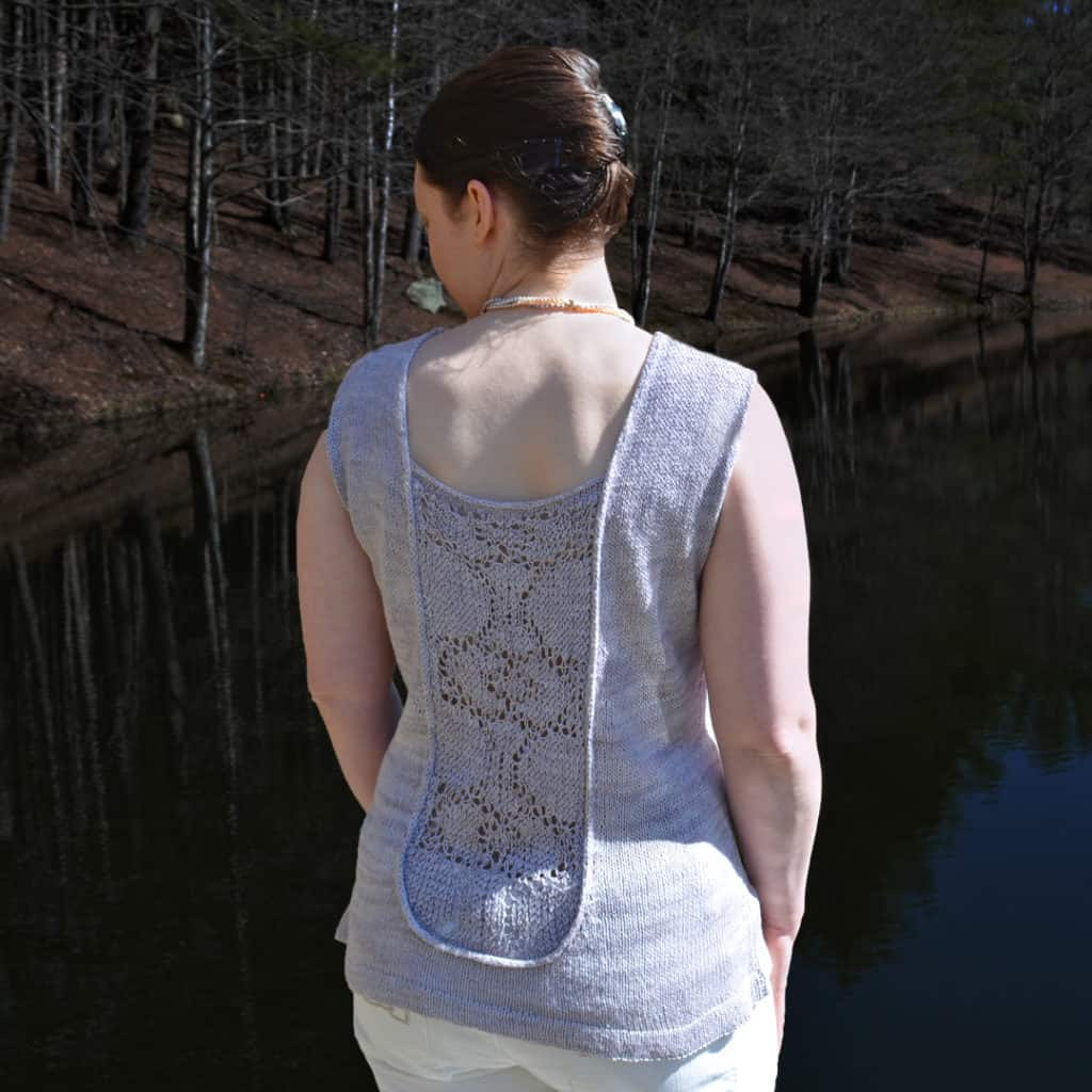 Moonlit Kiss back tank