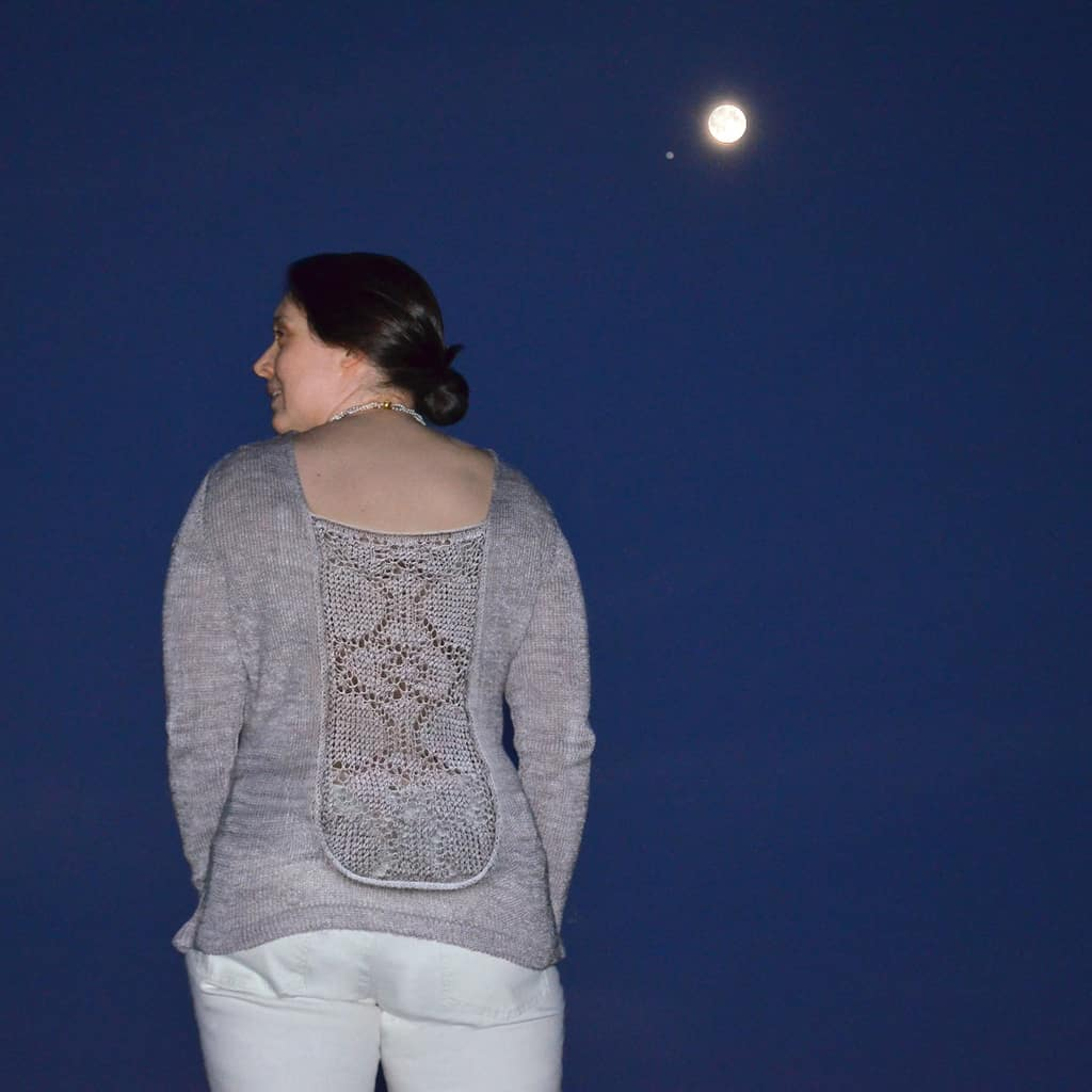 Moonlit Kiss back sleeved