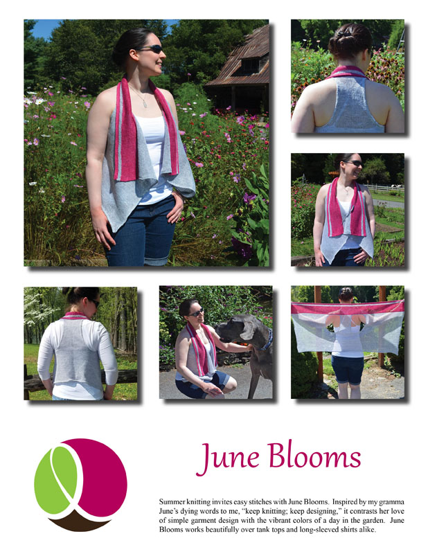 June Blooms Pattern Cover