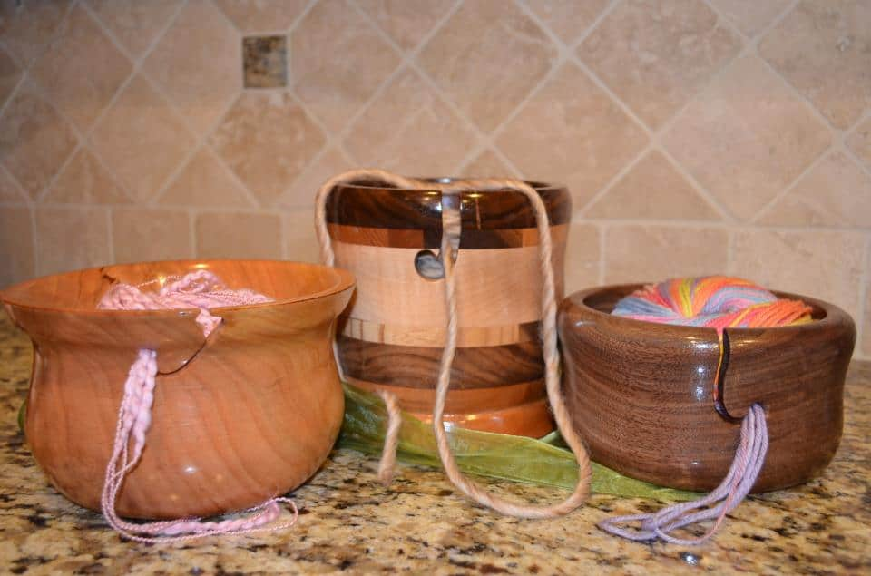 Yarn bowls in action