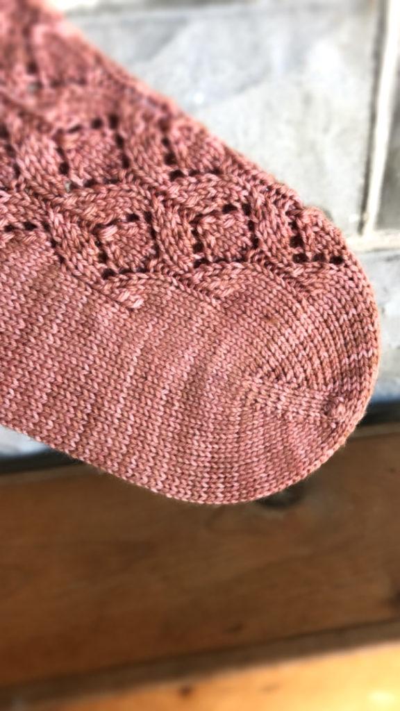 Louisette Socks by Ruth Brasch