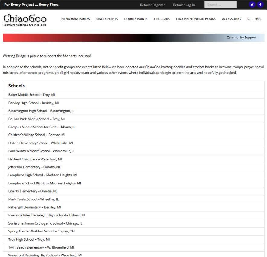 Chiaogoo Schools