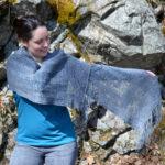 The Stacks shawl