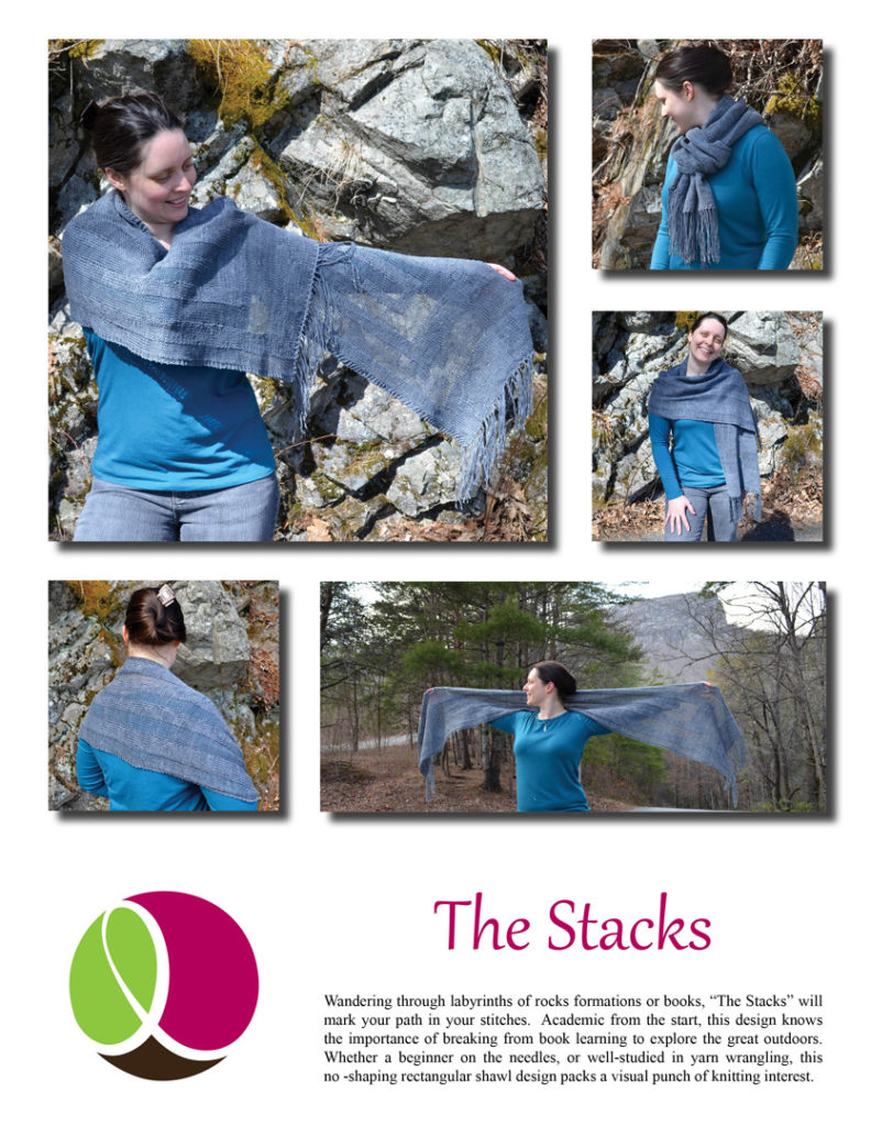 The Stacks pattern cover