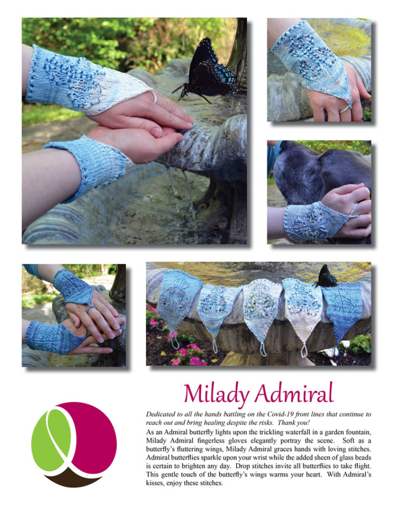 Milady Admiral Pattern Cover
