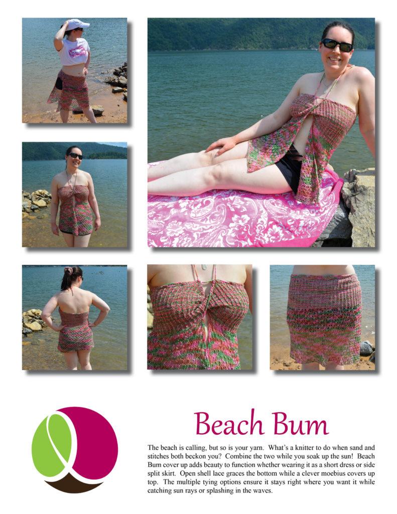 Beach Bum pattern cover