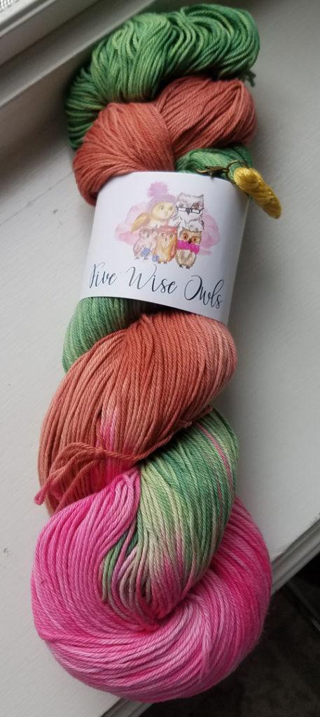 Five Wise Owls yarn
