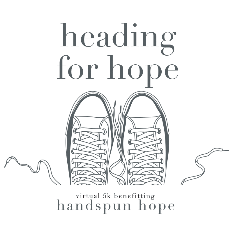 Handspun Hope 5K graphic