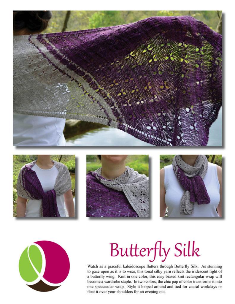 Butterfly Silk Pattern Cover