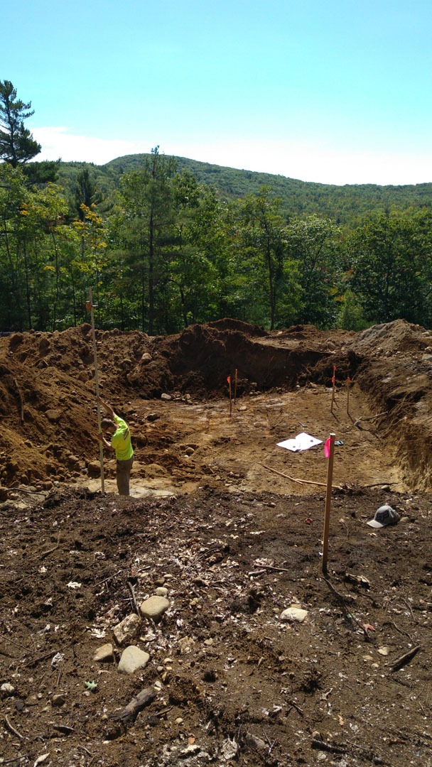 meanwhile in maine digging footers